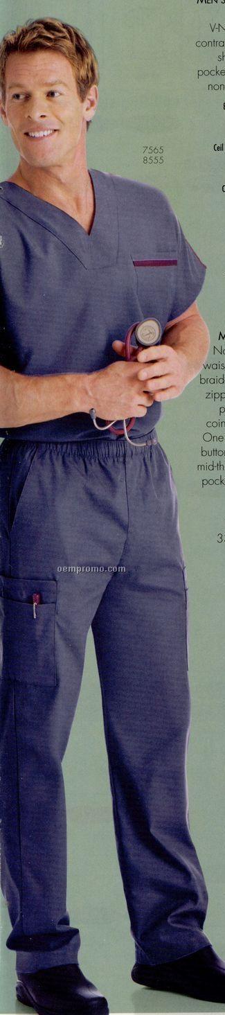 Landau Men's Medical Cargo Scrub Pants