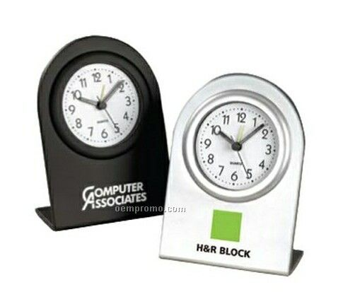 Ben Space Saving Plastic Alarm Clock