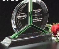 "Emerald Gallery Tribute Award (7"")"