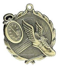 "Medal, ""Track"" - 1-3/4"" Wreath Edging"