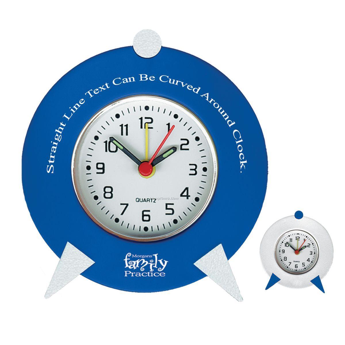 Retro Clock W/ Alarm