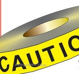 "Stock Traffic Barrier Tape - Caution Do Not Enter (1200'x3"")"