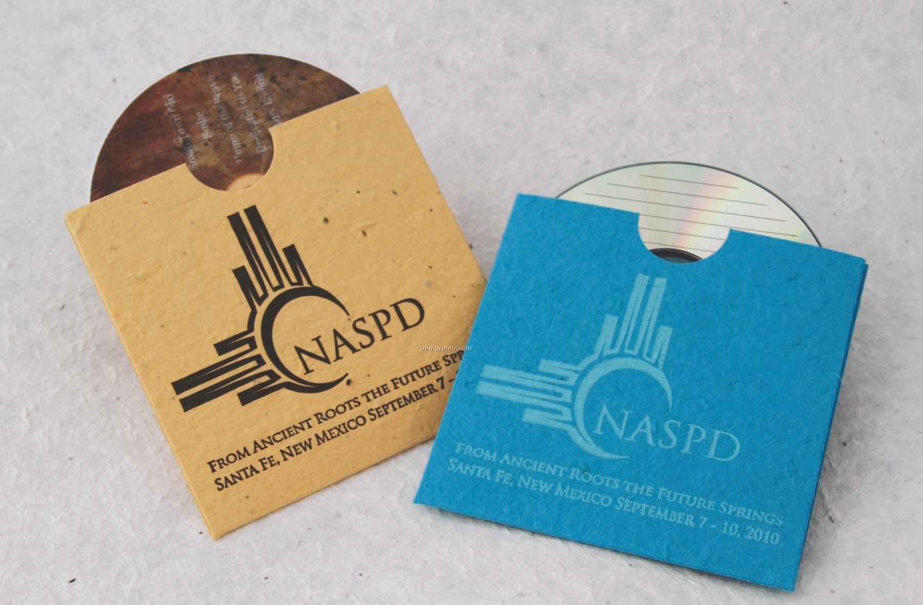 CD Sleeve Handmade Seed Envelope