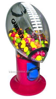 """5""""X5""""X9"""" Sports Candy - Gumball Dispenser Machine (Football)"""