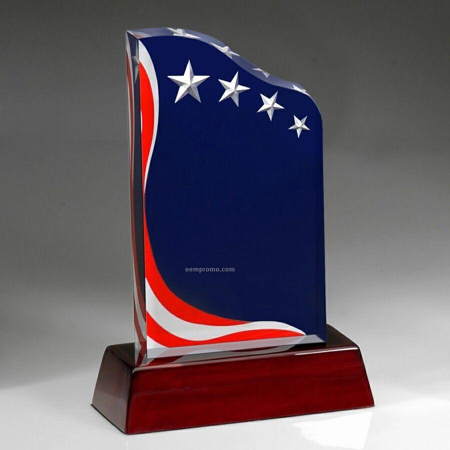 American Spirit Award With Rosewood Base