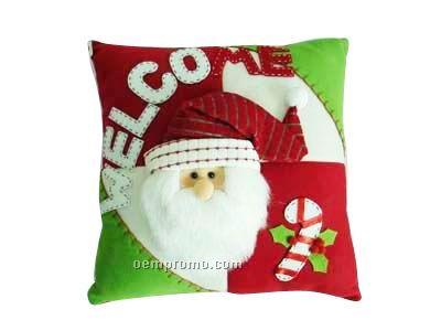 Christmas Snowman Clause Cushion/Pillow