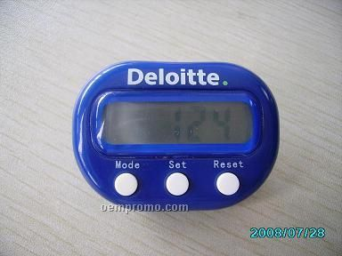 Multi Function Pedometer With Belt Clip