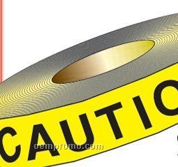 "Stock Traffic Barrier Tape - Caution Wet Floor (1200'x3"")"