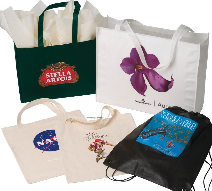 """The Texas Tote Bag W/ Adjustable Strap - Full Color (18""""X5""""X15"""")"""