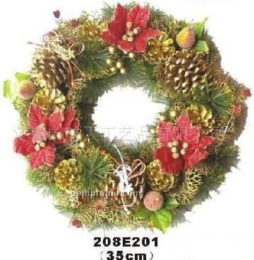 Wreath Of Pine Cones