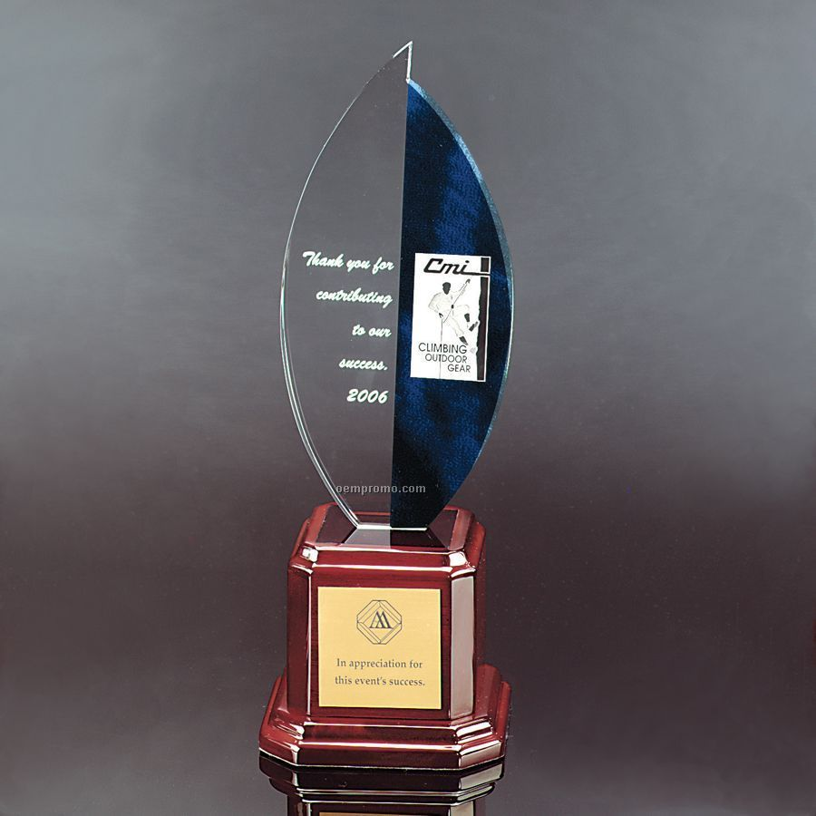 Elegant Curvature Flame Award