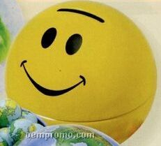 Large Sports, Globe, Or Smiley Face Tin Bank