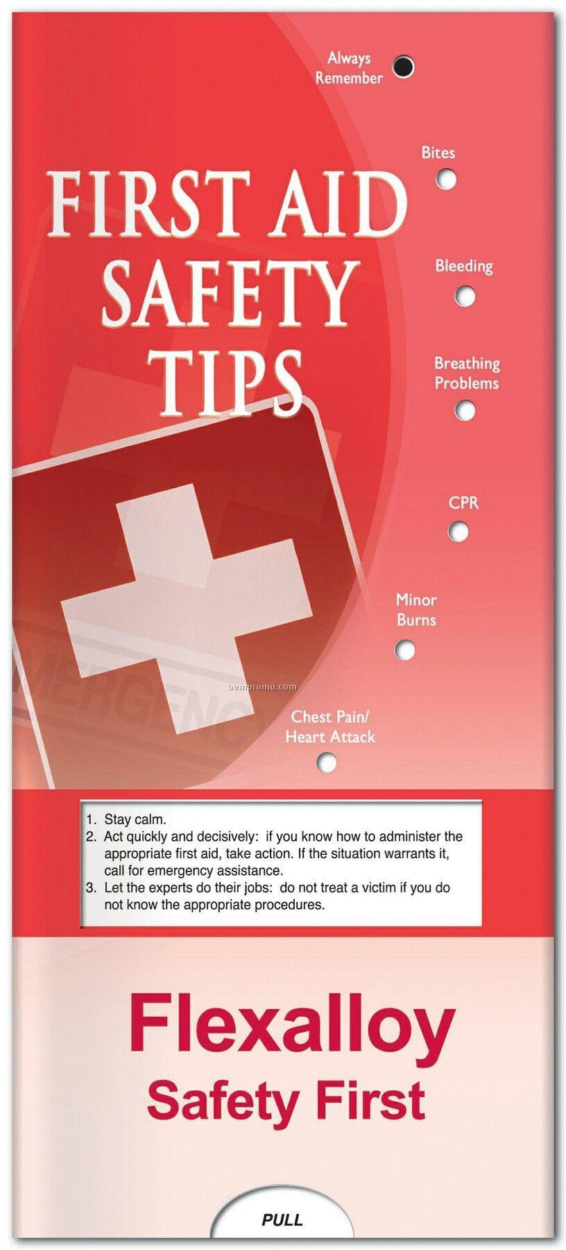 Pillowline First Aid Pocket Slider Chart