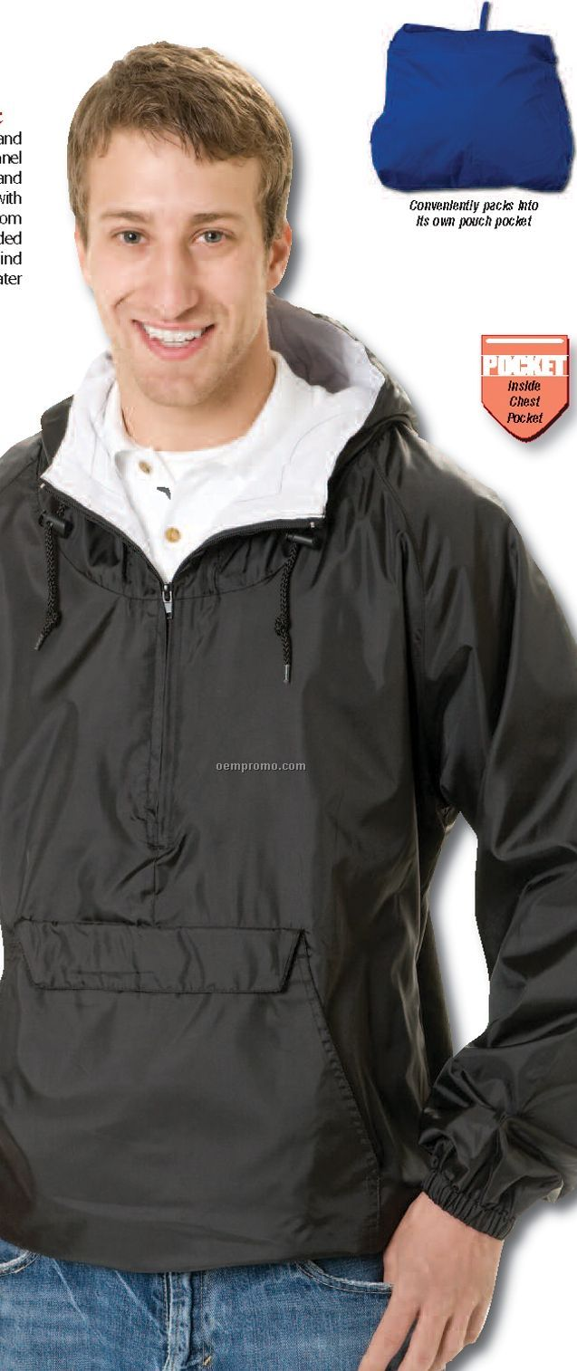 Paradise Point Hooded Pullover Jacket (2xl-4xl)