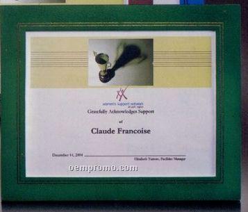 Green Cornell Certificate Holder
