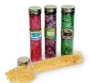 5.3 Oz. Bath Salt - In Clear Plastic Tube
