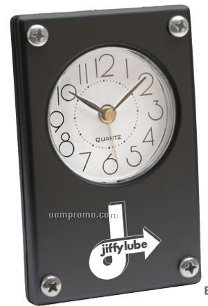 Metro Style Super Slim Quartz Analog Alarm Clock