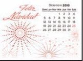 Spanish Magna Stick Calendar (After 8/1/2011)