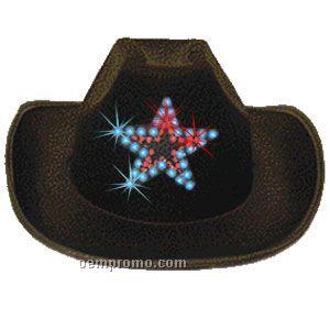 Light Up Star Cowboy Hat