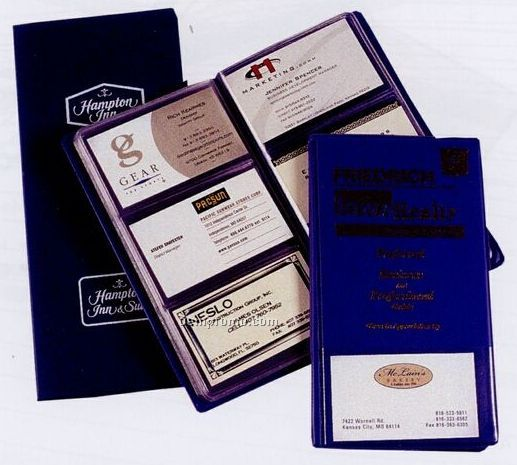 "Business Card Cases & Files / 48 Card (7 1/2""X4 1/2"")"