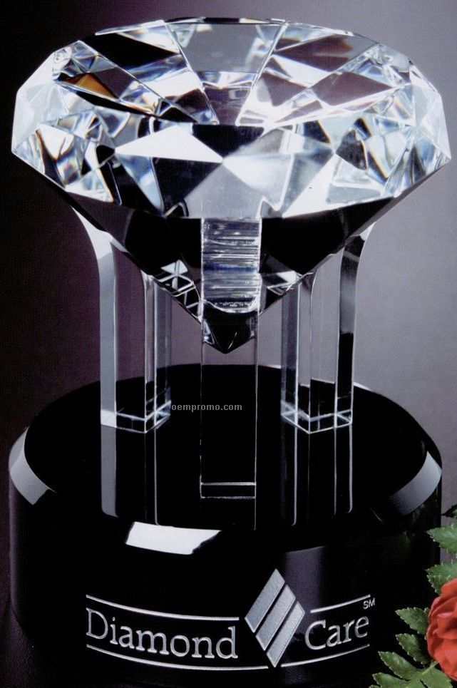 Sable Gallery Crystal Radiant Diamond Award