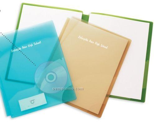 2-pocket Poly Folder