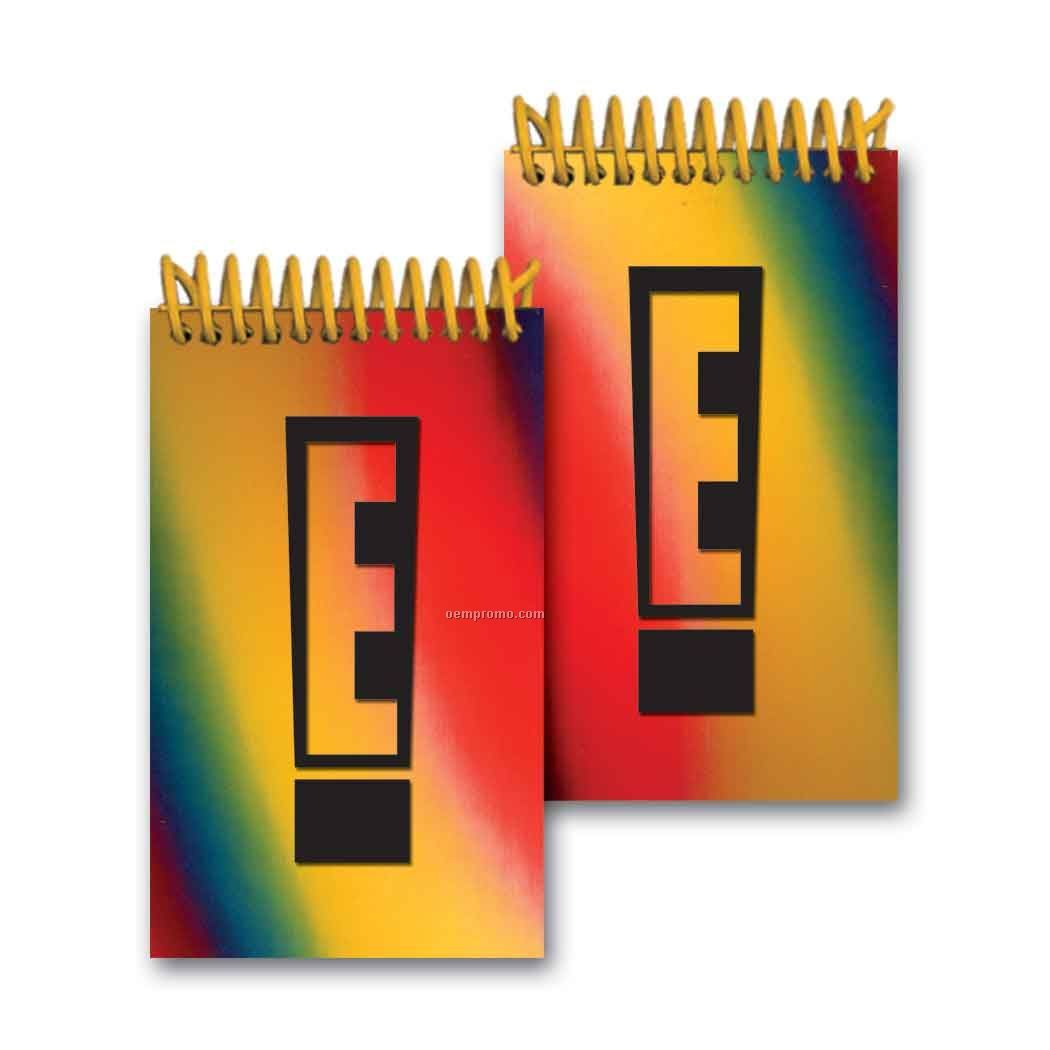 3d Lenticular Mini Notebook Stock/Changing Colors (Imprinted)