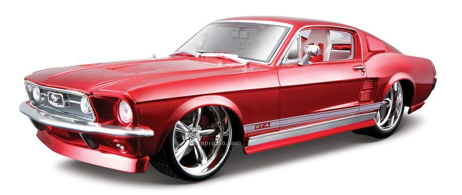 9 Quot X2 1 2 Quot X3 Quot 1967 Ford Mustang Gta Fastback All Star Die Cast China Wholesale 9 Quot X2 1 2 Quot X3