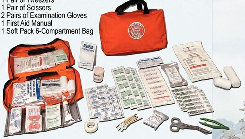 Outback First Aid Kit In A Soft Pack Bag