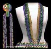 "48"" Mardi Gras Round Bead Necklace"