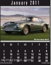 Cruisin' Cars Calendar Magna Stick (After 8/1/2011)