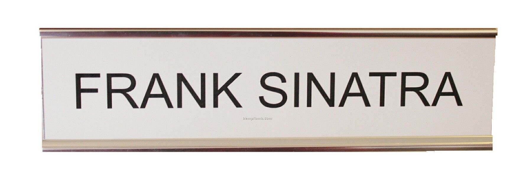 "Name Plate Insert 10"" X 2"""
