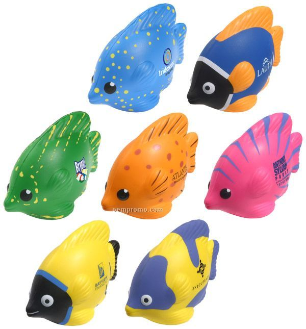 Tropical Fish Squeeze Toy