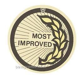 "Mylar - 2"" Most Improved"