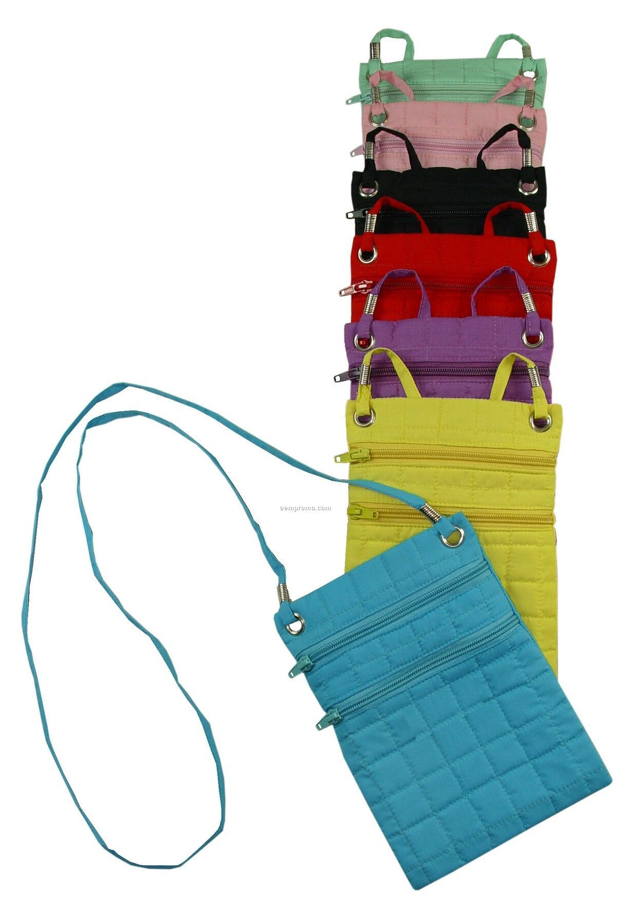 Quilted Fashion Pouch - Blank
