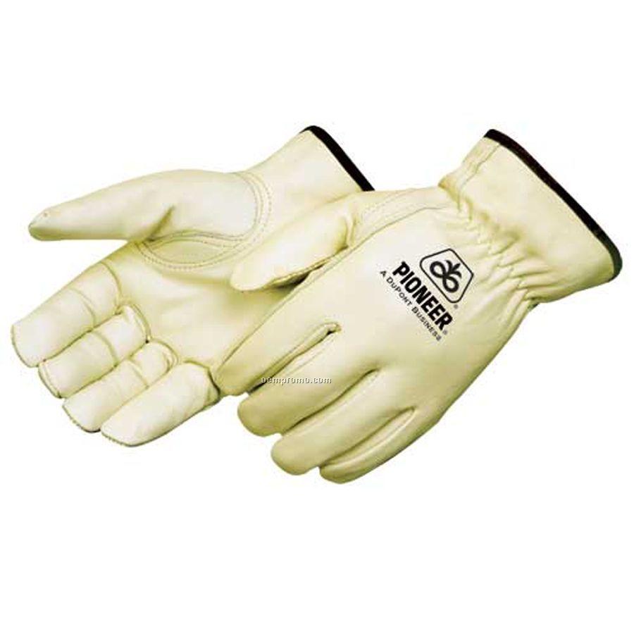 Standard Grain Cowhide Driver Gloves (S-xl)