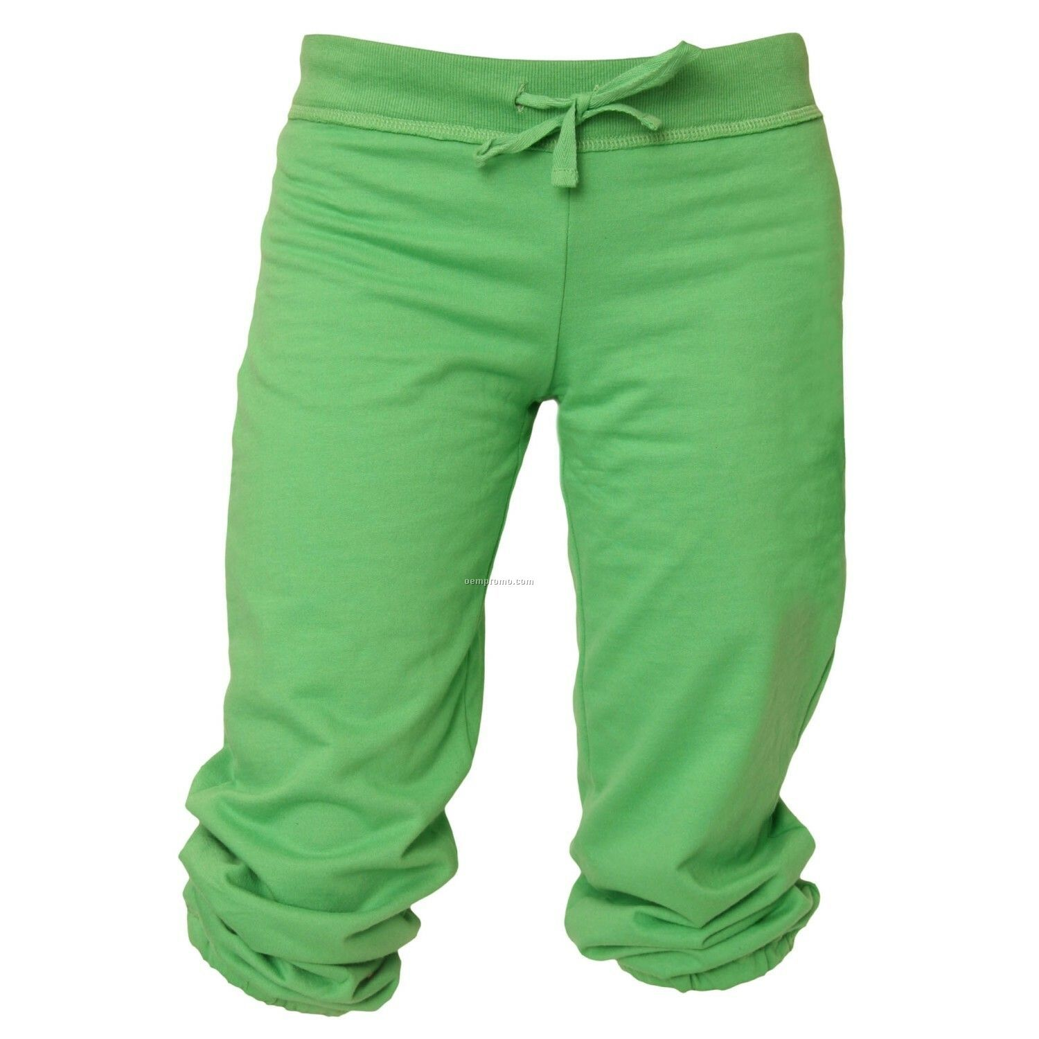 Youth Kelly Green Touchdown Cuffed Sweat Capris