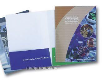 Full Color Folder - 14 Pt. Stock
