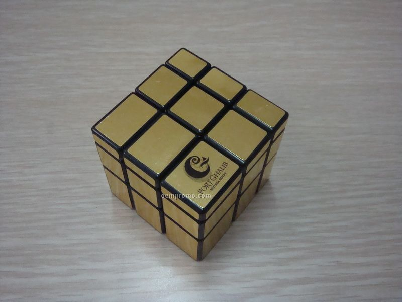 """Puzzle Cube With Mirror Blocks. 2 1/2"""""""
