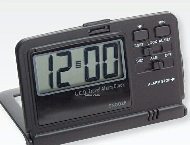 Slim Folding Travel Alarm Clock