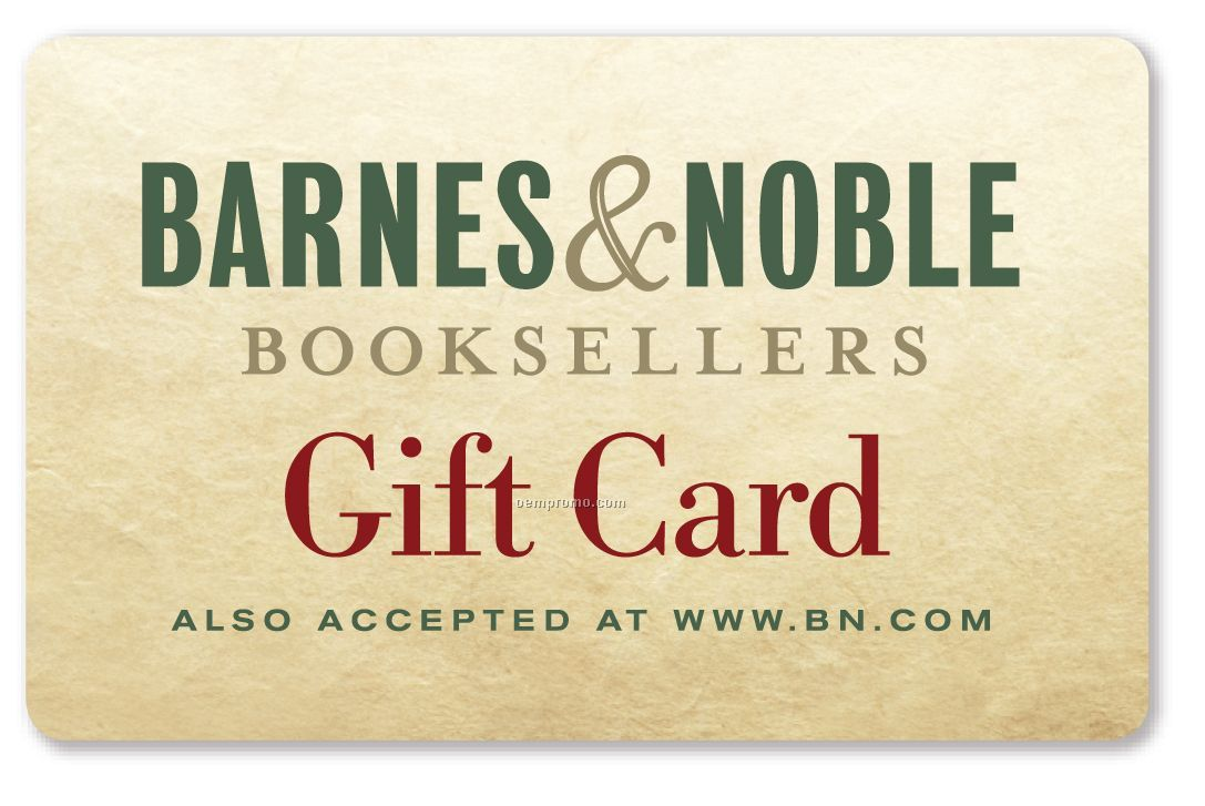 $10 Barnes & Noble Gift Card