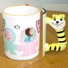 Lovely Animal Image Cup - Full Color