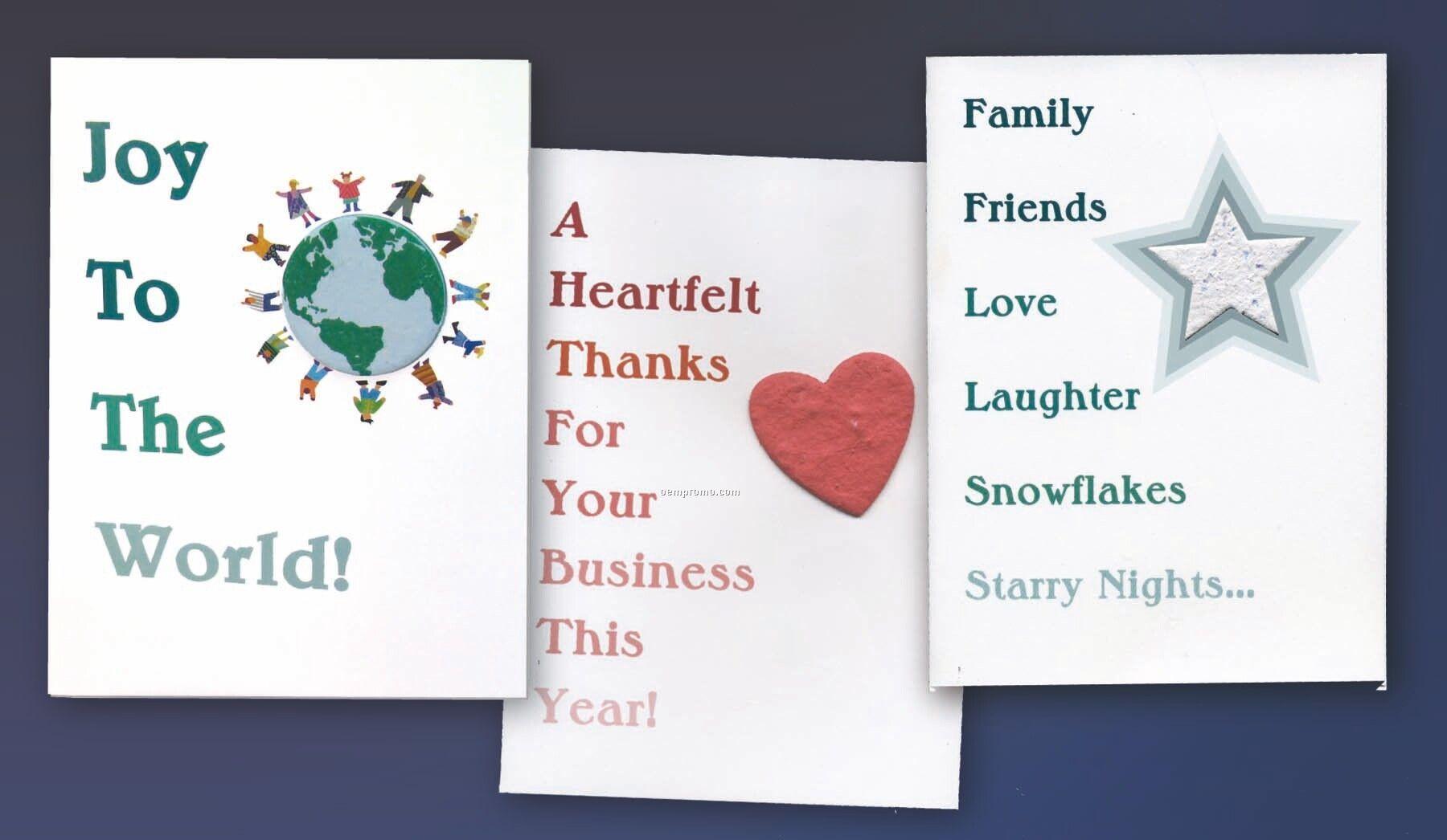 Mini Shape Greeting Card