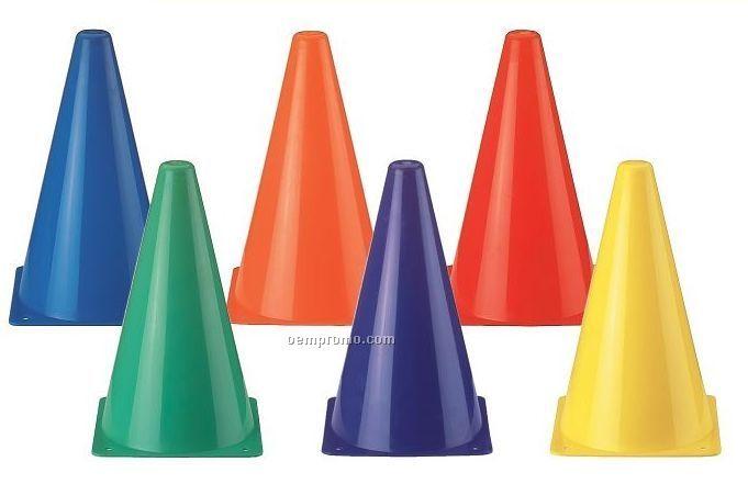 Rainbow Soccer Cones
