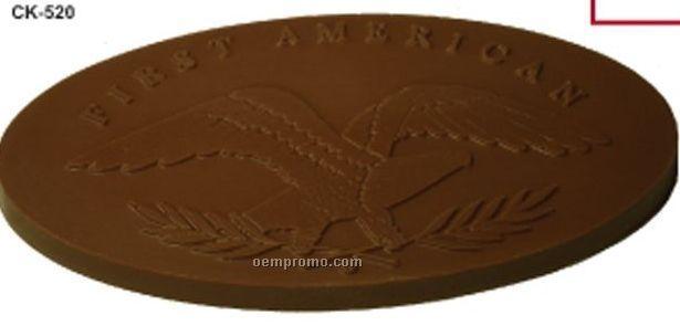 """8 Oz. Chocolate Piece (7 5/16""""X4 13/16""""X3/8"""")"""