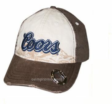 Baseball Cap With A Opener