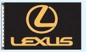 Checkers Single Face Dealer Logo Spacewalker Flag (Lexus)