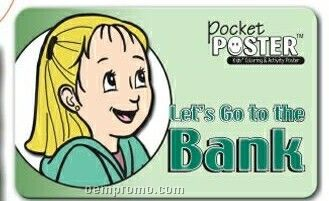 Pocket Poster - Lets Go To The Bank