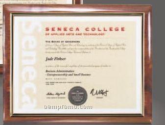 Walnut Carisbrooke Certificate Holder