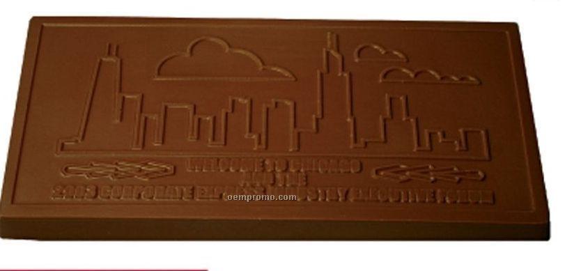 """16 Oz. Chocolate Piece (9 5/16""""X5""""X1/2"""")"""